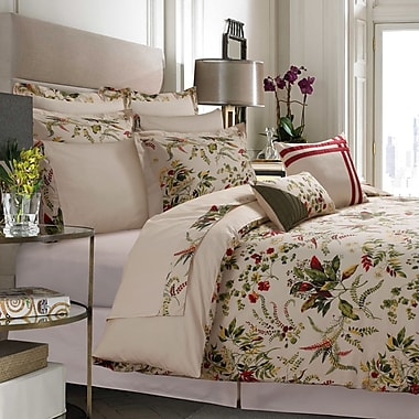 Tribeca Living Maui Egyptian-Quality Cotton 12 Piece Bed-In-A-Bag Set; Queen