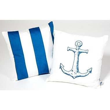 Atelier dele Anchor Kid Cotton Throw Pillow
