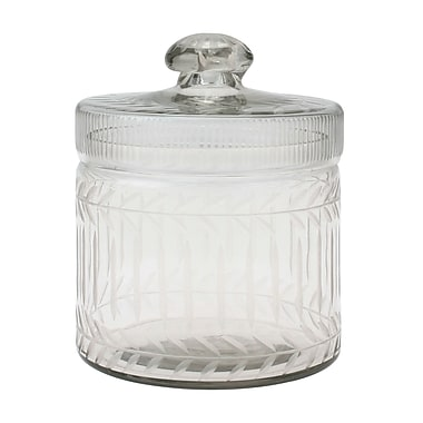 CKK Home D cor, LP Stonebriar Clear Cut Glass Trinket Box