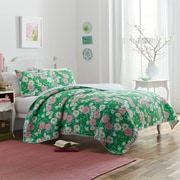 Latitude Run Batelov Garden Quilt Set; Full/Queen