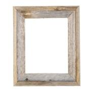 Loon Peak Reclaimed Barn Wood Open Picture Frame