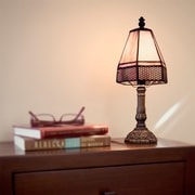 River of Goods Lattice Tiffany 12'' Table Lamp