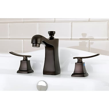 Kingston Brass Queensbury Widespread Lavatory Faucet; Oil Rubbed Bronze