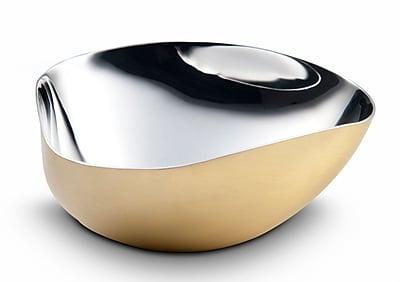 Mary Jurek Design Inc Arroyo Triangle Bowl; Brass
