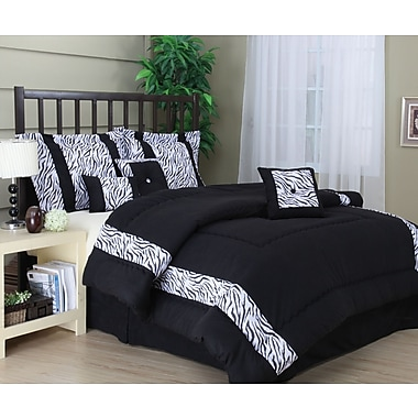 Nanshing America, Inc Mali 7 Piece Comforter Set; King