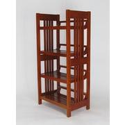 Wayborn 45'' Standard Bookcase
