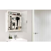 Symple Stuff 15'' x 19'' Mirrored Wall Mounted Cabinet