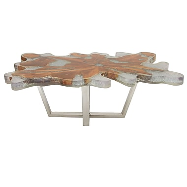 Cole & Grey Coffee Table; 18'' H x 47'' W x 28'' D