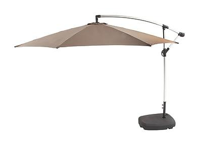 Cole & Grey 10.5' Cantilever Umbrella; Khaki