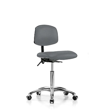Perch Chairs & Stools Low-Back Desk Chair; Cinder