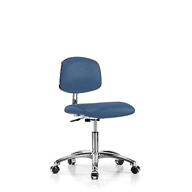 Perch Chairs & Stools Low-Back Desk Chair; Newport Fabric