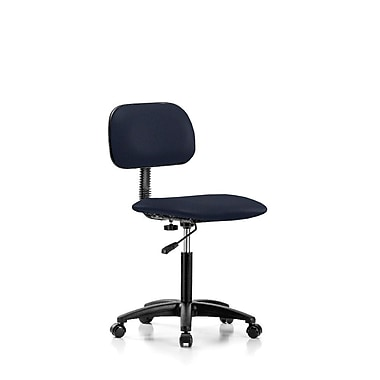 Perch Chairs & Stools Low-Back Desk Chair; Imperial Fabric