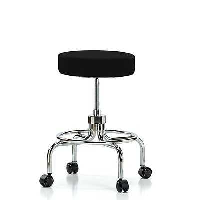 Perch Chairs & Stools Height Adjustable Exam Stool; Black