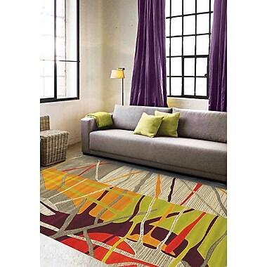 Brayden Studio Caster Abstract Texture Area Rug; 7'10'' x 10'6''