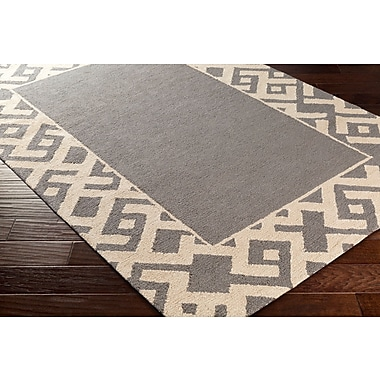 Artistic Weavers Congo Carson Hand-Tufted Gray/Beige Area Rug; Runner 2'3'' x 8'