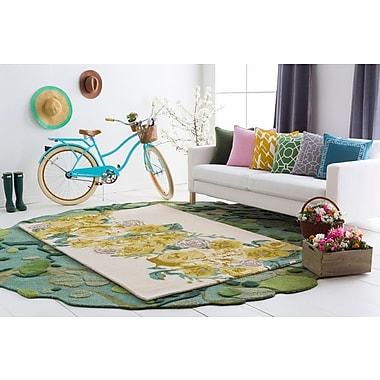 Artistic Weavers Botany Emilia Hand-Tufted Yellow Area Rug; 5' x 7'6''