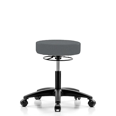 Perch Chairs & Stools Height Adjustable Stool; Cinder Fabric