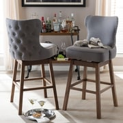 Wholesale Interiors Baxton Studio 31'' Bar Stool (Set of 2)