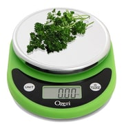 Ozeri Pronto Digital Multifunction Kitchen and Food Scale; Lime Green