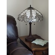 AmoraLighting Tiffany 23'' Table Lamp