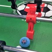Warrior Table Soccer Pro Game Foosball (Set of 8); Blue