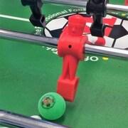 Warrior Table Soccer Pro Game Foosball (Set of 8); Green