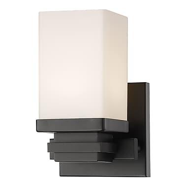 Z-Lite Avige 1-Light Wall Sconce; Bronze