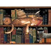 HadleyHouseCo 'Remington the Well-Read' by Charles Wysocki Painting Print