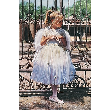 HadleyHouseCo 'Angel at the Gate' by Steve Hanks Painting Print