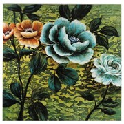 Essential Decor & Beyond 'Flowers' Oil Painting Print on Canvas