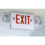 Lithonia Lighting Contractor Select Thermoplastic LED Letter Emergency Exit Sign Light Fixture