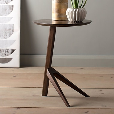 Greenington Rosemary End Table; Black Walnut