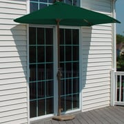 Blue Star Group Terrace Mates Villa Economy 5 Piece Dining Set; Green Olefin