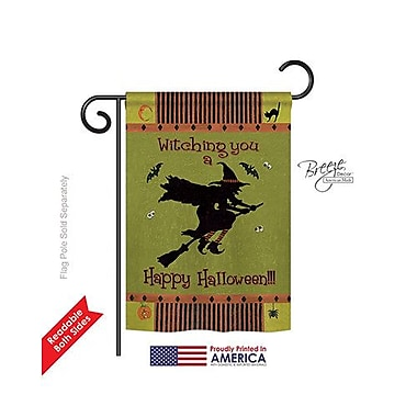 TwoGroupFlagCo Witching You 2-Sided Vertical Flag; 40'' H x 28'' W
