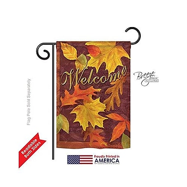 TwoGroupFlagCo Fall Leaves 2-Sided Vertical Flag; 18.5'' H x 13'' W
