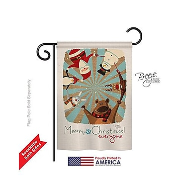 TwoGroupFlagCo Everyone's Xmas 2-Sided Vertical Flag; 40'' H x 28'' W