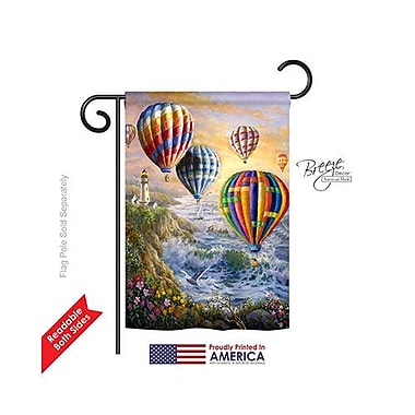 TwoGroupFlagCo Summer Glow 2-Sided Vertical Flag; 18.5'' H x 13'' W