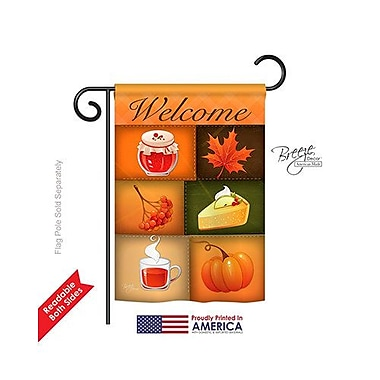 TwoGroupFlagCo Scents of Harvest 2-Sided Vertical Flag; 40'' H x 28'' W
