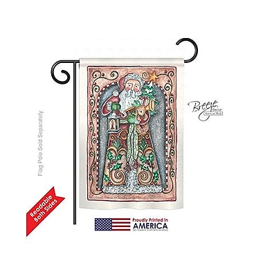 TwoGroupFlagCo Santa Toys and Lamp 2-Sided Vertical Flag; 18.5'' H x 13'' W