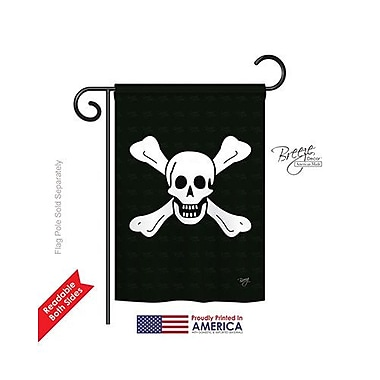 TwoGroupFlagCo Richard Worley 2-Sided Vertical Flag; 18.5'' H x 13'' W