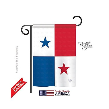 TwoGroupFlagCo Panama 2-Sided Vertical Flag; 40'' H x 28'' W
