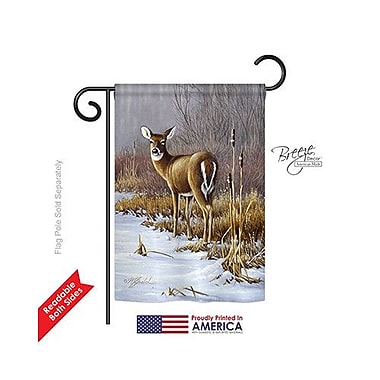 TwoGroupFlagCo On Alert 2-Sided Vertical Flag; 40'' H x 28'' W