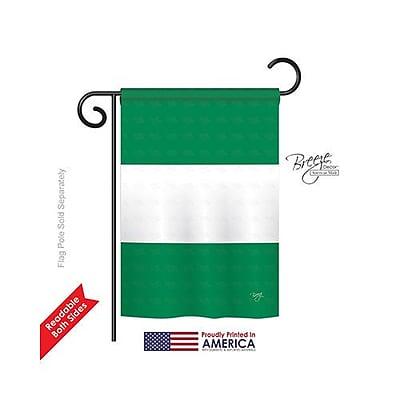 TwoGroupFlagCo Nigeria 2-Sided Vertical Flag; 40'' H x 28'' W