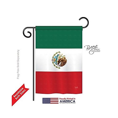 TwoGroupFlagCo Mexico Country 2-Sided Vertical Flag; 40'' H x 28'' W