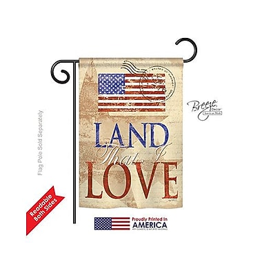 TwoGroupFlagCo Land That I Love 2-Sided Vertical Flag; 40'' H x 28'' W