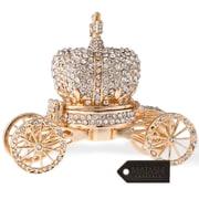 MatashiCrystal Hand Painted Royal Crown Carriage Ornament