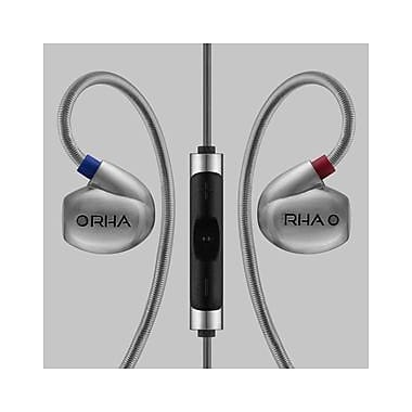 RHA T10i High Fidelity Noise Isolating In-Ear Headphones with Remote (202010)