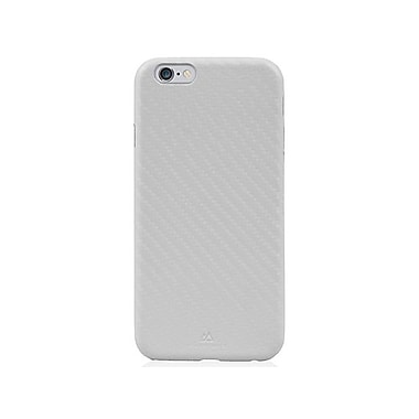 Black Rock Flex Carbon Cell Phone Case for iPhone 6/6S, Silver (1010ECB08)