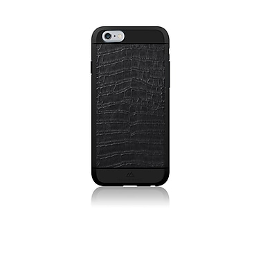 Black Rock Material Cell Phone Case for iPhone 6/6S, Croco Black (1010MCR02)