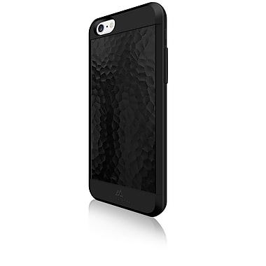 Black Rock Material Cell Phone Case for iPhone 6/6S, Hammered Black (1010MHA02)